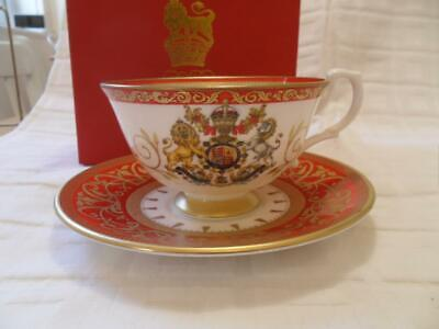 Royal Collection Trust. 60th Anniv Of The Coronation Teacup & Saucer (Boxed) • 29.50£