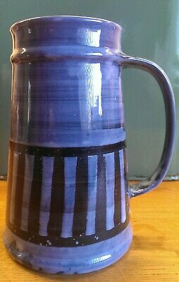 Rye Monastery Pottery Cinque Ports Tall Tankard Vintage • 10£