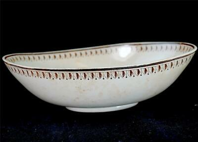Antique 19th Century Wedgwood Etruria Oval Bowl Creamware Pearlware • 49.99£