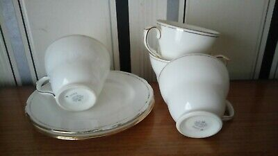 Vintage Duchess China  4 Cups 3 Plates Ascot • 7£