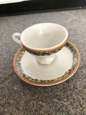 Miniature Cup & Saucer From Museum Of Miniatures By Mayfair • 8.99£