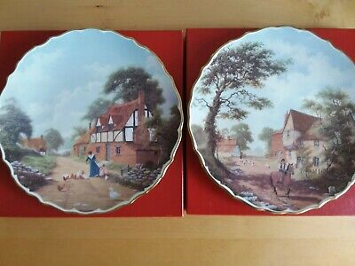 Spode Rural Scenes Collectors Plates By Raymond Mutch • 10£