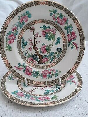 2 Maddock Bone China Indian Tree Side Plates - Diameter 15 Cms / 5.75 Inches • 7£