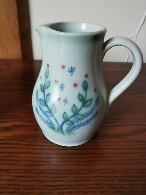 Scottish Buchan Stoneware Milk Jug - Signed • 12£