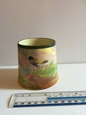 Royal Doulton  Jam Pot With Country Scene And Bird • 6£