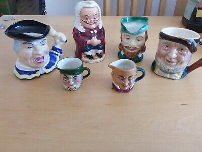 Toby Jugs. Minatures. Small Collection • 1.99£