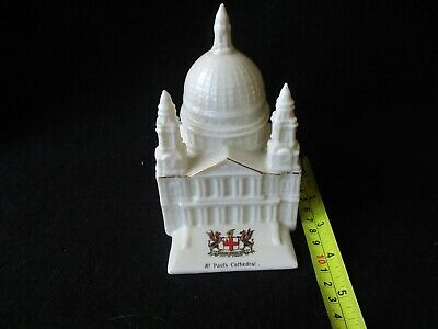 Crested China St Pauls Cathedral City Of London Alexandra • 10£