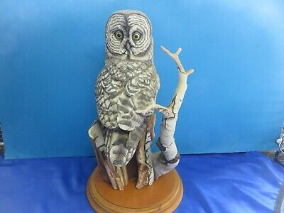 The Great Grey Owl Figurine • 29.99£