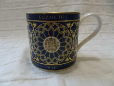 The Royal Mint 60th Wedding Anniv Of The Queen & Prince Philip Commemorative Mug • 7.99£