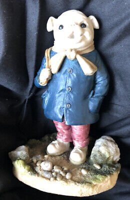RARE Arden Sculptures RUPERT BEAR Christopher Holt R032 ALGY PUG 75th Ann 1995 • 32.99£
