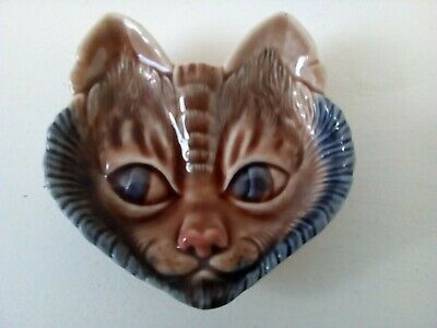 Set Of 2 Wade Cat Face Trinket Dishes Great Condition  • 7.99£