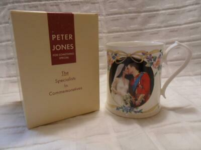 Peter Jones/Aynsley, 2011 Wedding Pr William & Catherine Commemorative Mug (A) • 9.99£