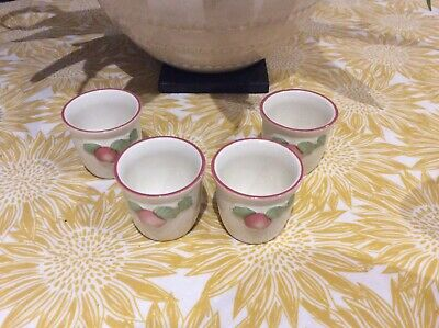 Boots Orchard Egg Cups X 4  • 3.10£