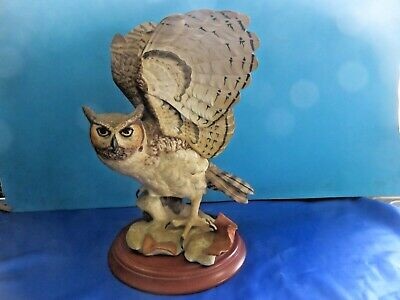 Franklin Mint  Great Horned Owl • 19.99£