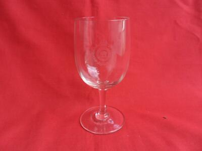 South Indian Railway Battalion, Etched Stemmed Glass • 25£