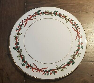 Royal Worcester Holly Ribbons Christmas Platter 11 Inch  • 36£