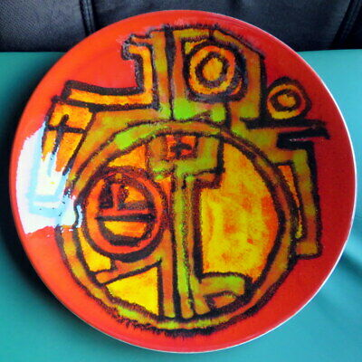 Lovely Poole Pottery Charger Delphis 10 1/2   By CAROL CUTLER • 49.99£