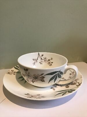 Laura Ashley  Floral Breakfast Tea Cup And Saucer • 6.99£