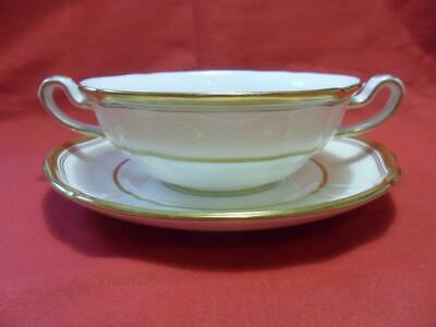 Spode, STRATFORD, Soup Coupe & Stand • 22.50£