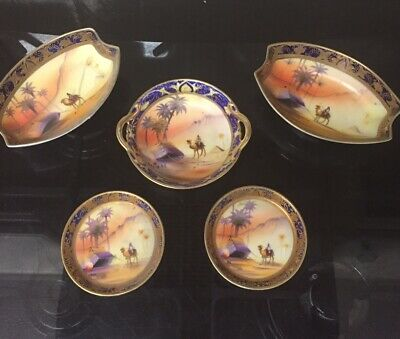 Camel China Japanese Gold Encrusted Hand Painted And Signed • 35£