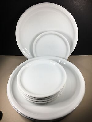 10 Plates By Thomas Of Germany. 5 X Dinner Plates 26cm And 5 X Side Plates 16cm • 12£
