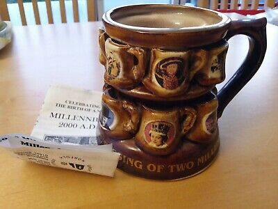 Great Yarmouth Pottery Millennium Tankard Limited Edition • 6£