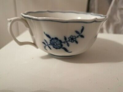 Meissen Porcelain Blue And White Coffee Cup • 5£