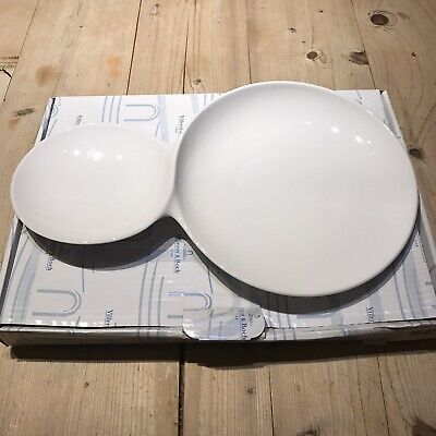 Villeroy And Boch Flow Serving Plate 45 Cms X 28 Cms • 35£