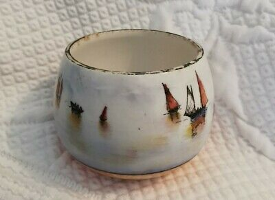 Vintage Wiltshire & Robinson Carlton Ware Ship Design Pottery IMMACULATE  • 24.99£