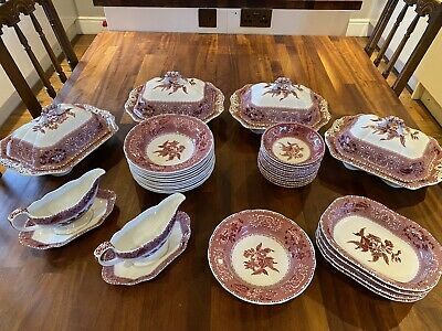 Spode Pink Camilla Dining Set • 6.90£