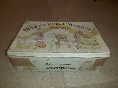 Mrs Tiggy Winkle Nursery Set By Wedgewood 4 Piece • 8.90£
