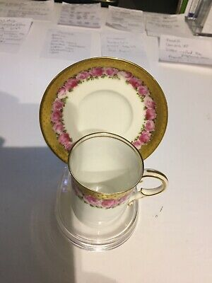 Lovely 1911 George Jones Bone China Cup & Saucer - Pattern No. 20241 • 38£