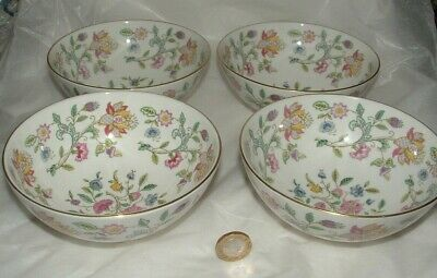 Four Haddon Hall Footed Bowls Excellent Condition • 14.99£