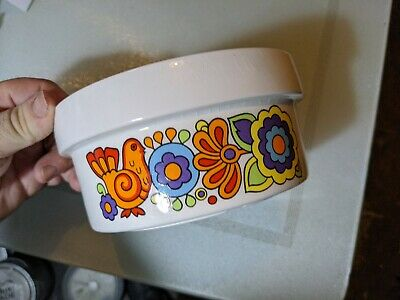 LORD NELSON POTTERY GAYTIME ~ SMALL DISH / BOWL J60d KITSCH RETRO • 6.95£