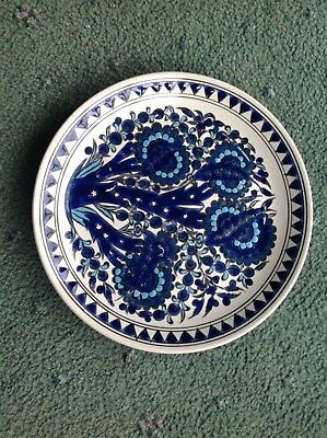 Blue And White Plate • 10£