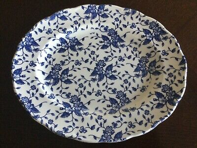 Royal Tudor Oval Shape Plate By Grindley. Pattern Is BOUQUET. Made In England.  • 9.99£