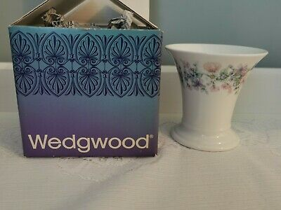 Vintage Wedgwood Angela Posy Pot In Box IMMACULATE  • 9.99£