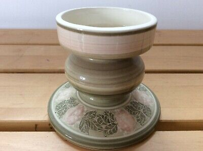 Jersey Pottery Candlestick Vintage Good Used Condition • 9£