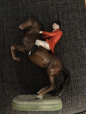 Beswick Rider - Huntsman On Rearing Horse - Model No. 868 – Excellent Condition • 105£