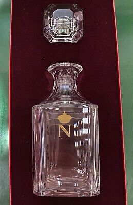 Baccarat Crystal Napoleon Decanter 1980s - Unused And In Original Box • 100£
