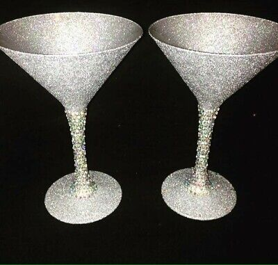 Blinged Cocktail Glass  • 9£