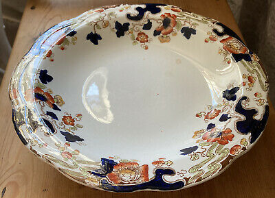 Antique China Cake Stand -Losol Ware,Keeling & Co. Tokio 1790 • 15£