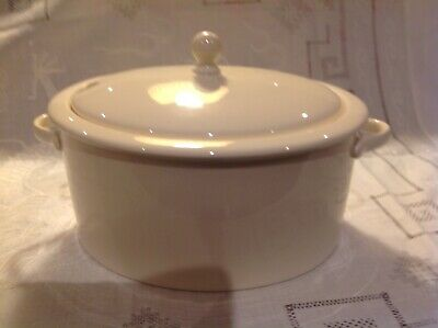 Wedgwood Queen's Ware Traditional Range Casserole Pot • 5.99£