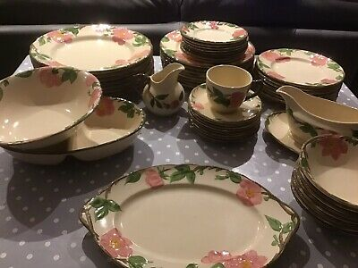 45 Pieces Of Franciscan Desert Rose Tableware • 60£