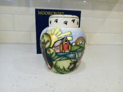 Moorcroft Ginger Jar. Daddy Wouldnt Buy Me A Bow Wow. Limited Ed. • 285£