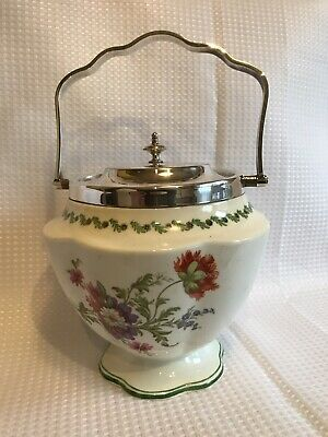 Porcelain Biscuit Box By George Jones &Sons  • 15£
