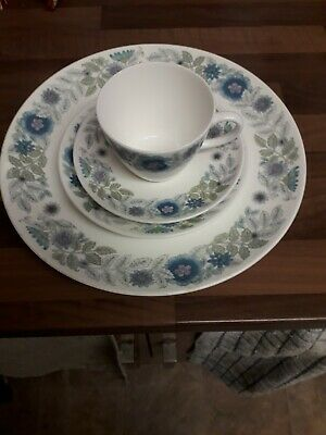 Wedgwood Clementine 1 X Cup, Saucer, Side Plate And Dinner Plate • 3.75£