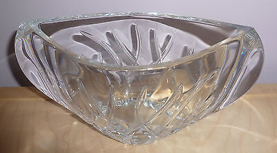 Galway Lead Crystal  - Oval Dish   (g663) • 19.99£