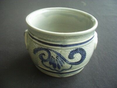 Blue & Grey Pottery Bowl / Dish ~tableware Or Decorative • 6.99£