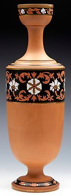 Torquay Terracotta Co Vase By Christopher Dresser C.1875 • 380£